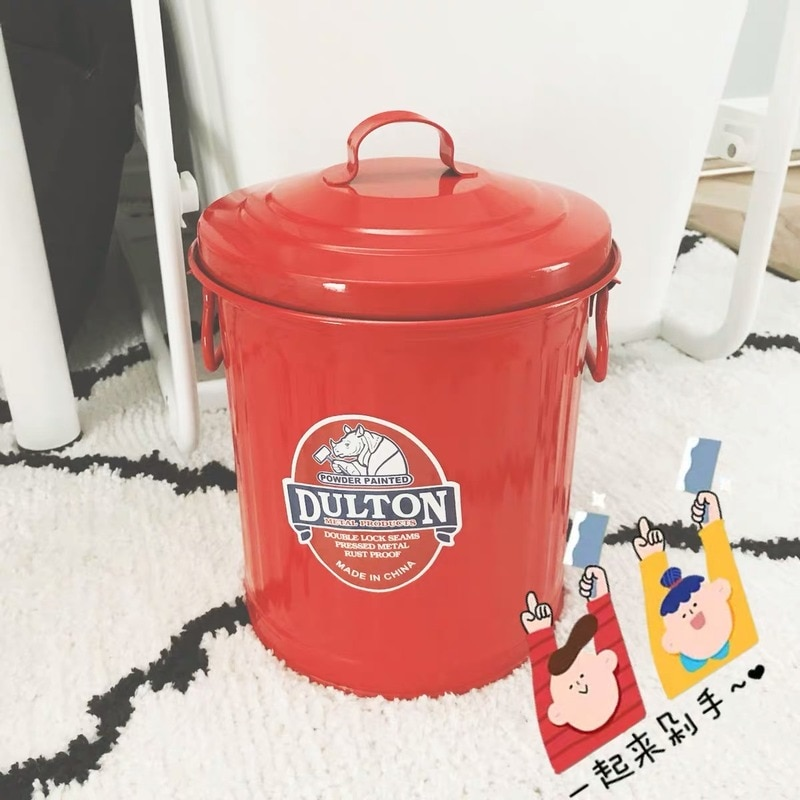 Japanese Style Creative Trash Can Bedroom Kitchen Storage Trash Can Recycling Bins Poubelle De Cuisine Kitchen Accessories BC50 enlarge