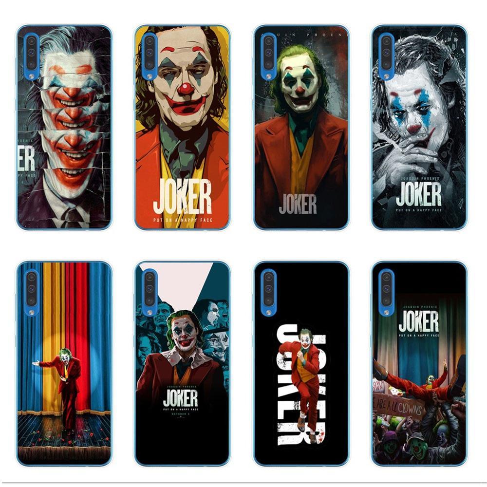 Joker 2019 Joaquin Phoenix soft Silicone cover phone case For Coque Samsung A10 A20 A30 A40 A50 A70 2019 A7 A9 A6 A8 Plus 2018