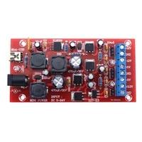 1pc mini usb dual power supply 5 24v to %c2%b112v %c2%b15v 3 3v boost single turn module linear regulator power supply diy kit
