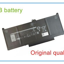 Original quality  Laptop battery For 13 7300 13 5300 MXV9V 5VC2M 05VC2M 829MX 0829MX E7400