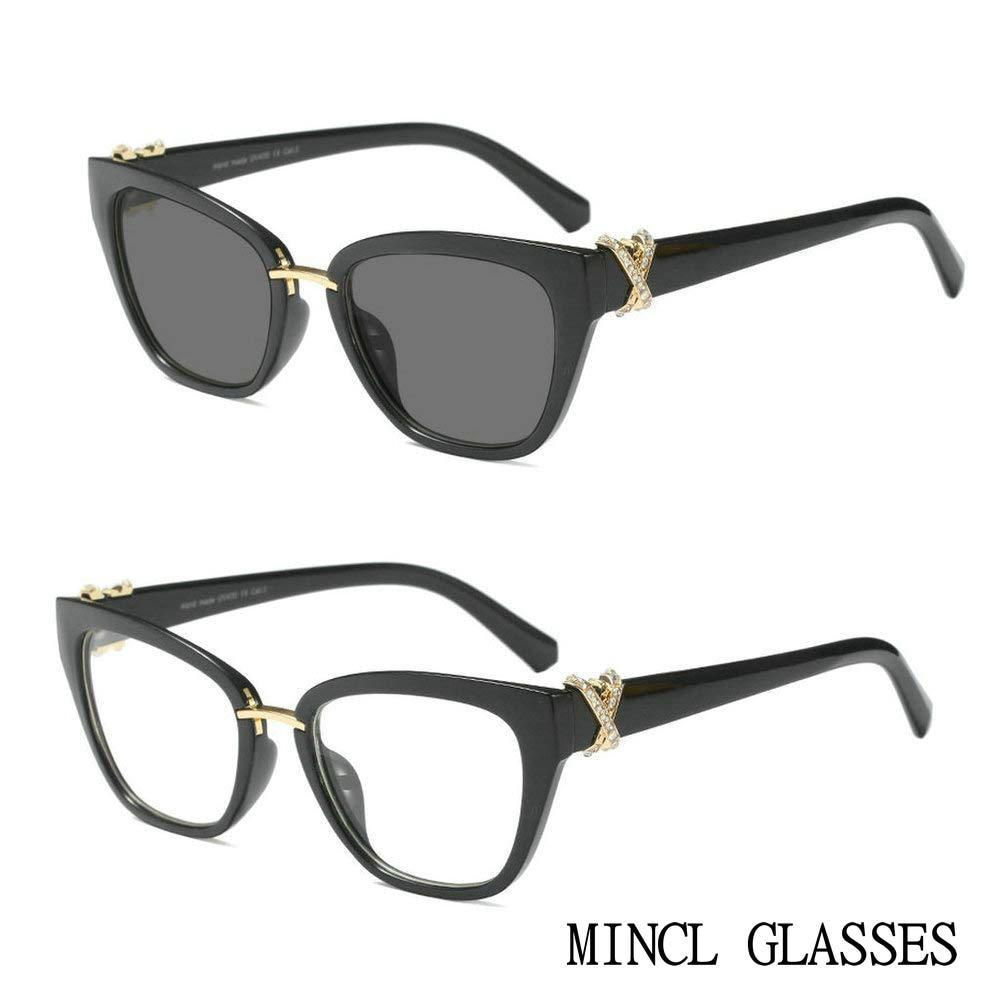 Очки солнцезащитные женские фотохромные со стразами FML Мужские очки для чтения   