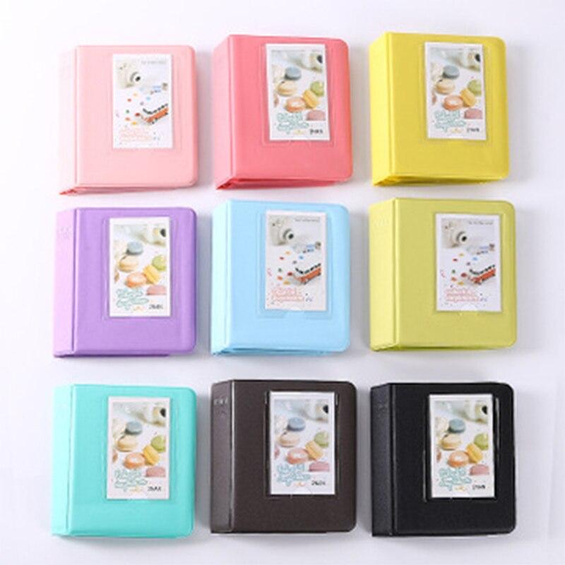 Mini 64 Pockets Polaroid Photo Album Mini Instant Picture Case Storage For Film Album Fotografia Photo Album