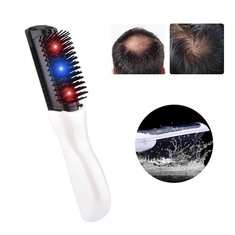 Hair Growth Care Treatment Laser Massage Comb Hair Comb Massager Equipment Comb Hair Brush Grow Lase