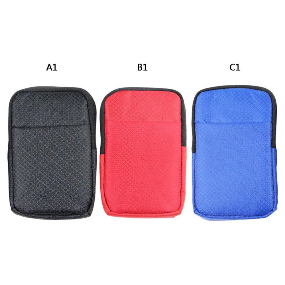 Protetor universal do saco do malote do telefone móvel 2.5 super super super eva à prova de choque água/poeira/resistente a riscos disco rígido externo caso de transporte
