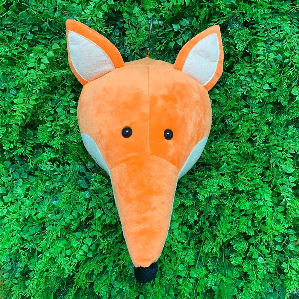 2021 лиса Новый pp Хлопок милый медведь Имитация животных плюшевая игрушка кролик кукла украшения приседание