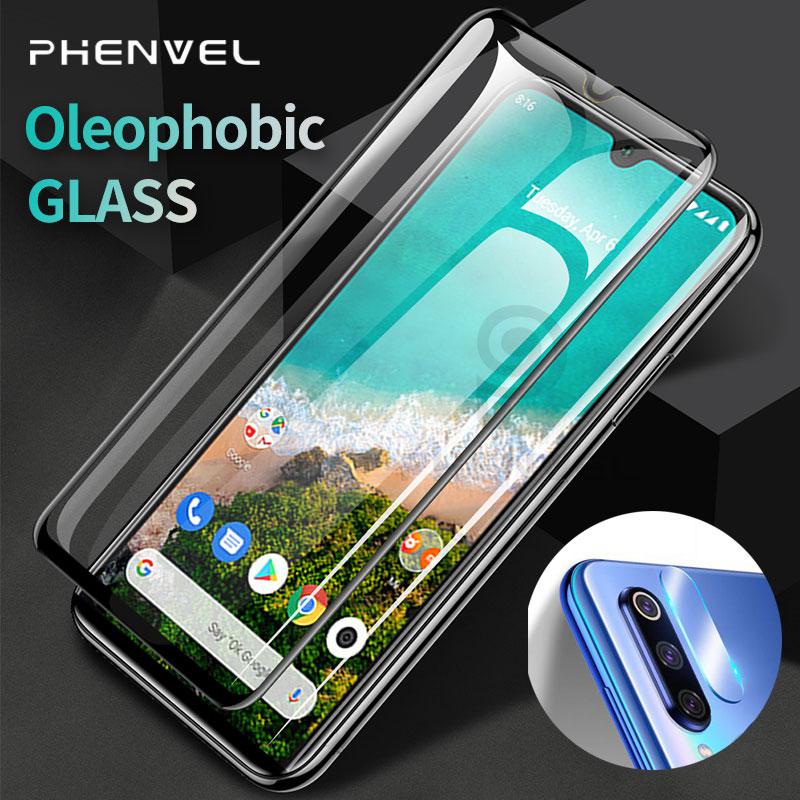 Enhanced Protective Glass For Xiaomi Mi A2 A3 Screen Protector Xiomi A2 Lite Oleophobic Tempered Glass