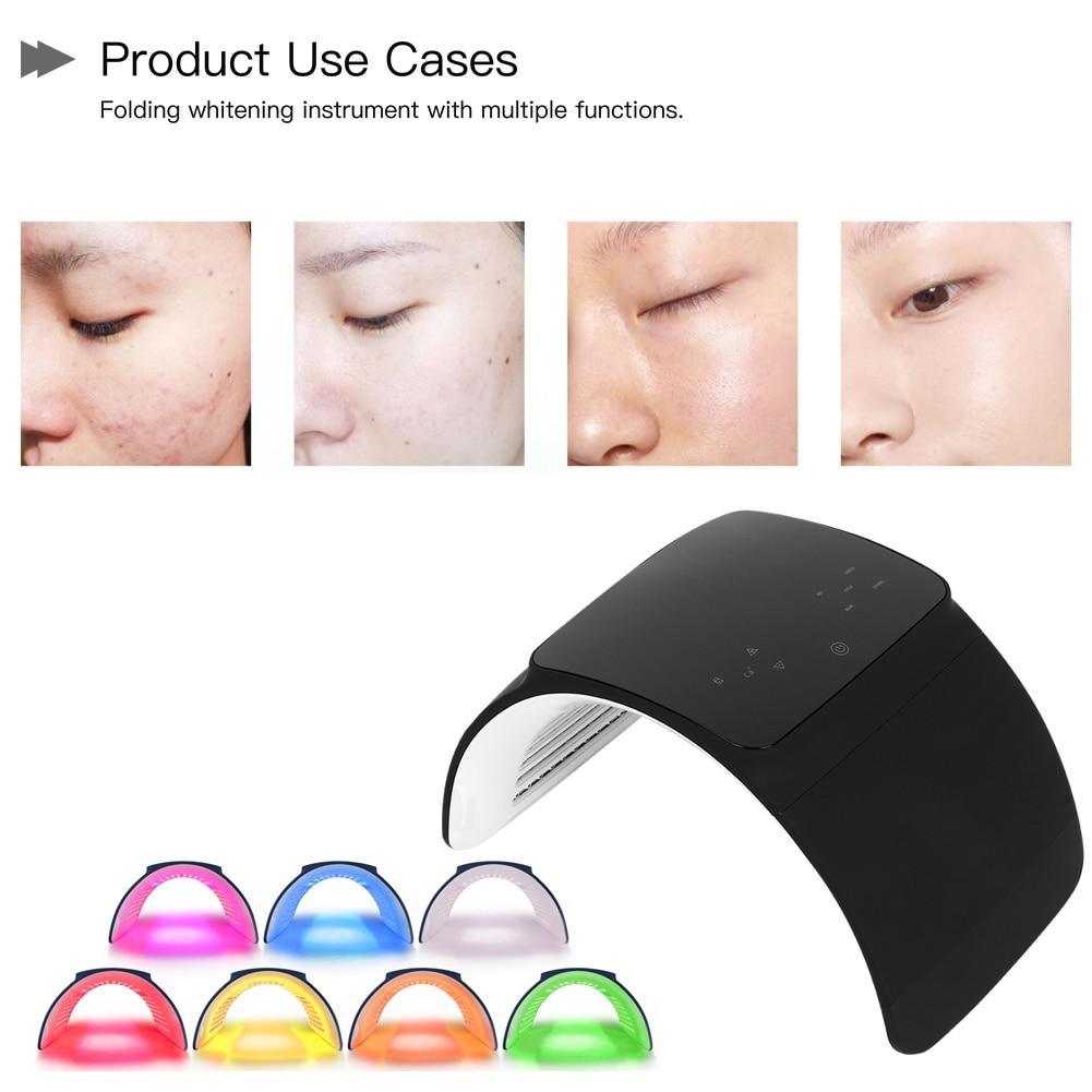 Detachable LED Photon Skin Rejuvenation Device Spectrum Anti-Wrinkle Beauty Instrument