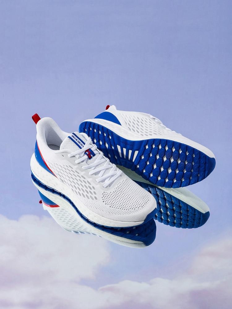 361 أحذية رياضية أحذية رجالي 2021 صيف جديد شبكة تنفس أحذية لينة وحيد ضوء انتعاش امتصاص الصدمات احذية الجري