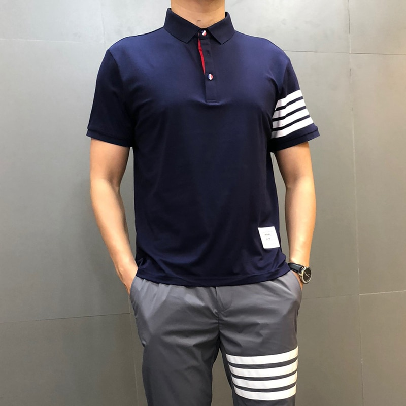 2021 Brand Polo Shirt Men's Summer Short Sleeve Plus Size Homme Clothing Casual Cotton Luxury Designer High Quality Fashion Tops