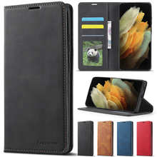 Wallet Luxury Leather Bags Case For Samsung Galaxy S21/S20 Plus/Ultra/FE S10 Plus/Lite S9/S8Plus S7 Note 20 Ultra/10/9 A03S A52S