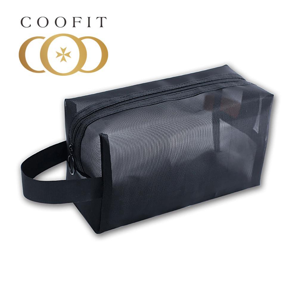 Coofit 1 шт. сумка для туалетных принадлежностей портативная Большая вместительная сумка для макияжа прозрачный дорожный Органайзер маленьки...