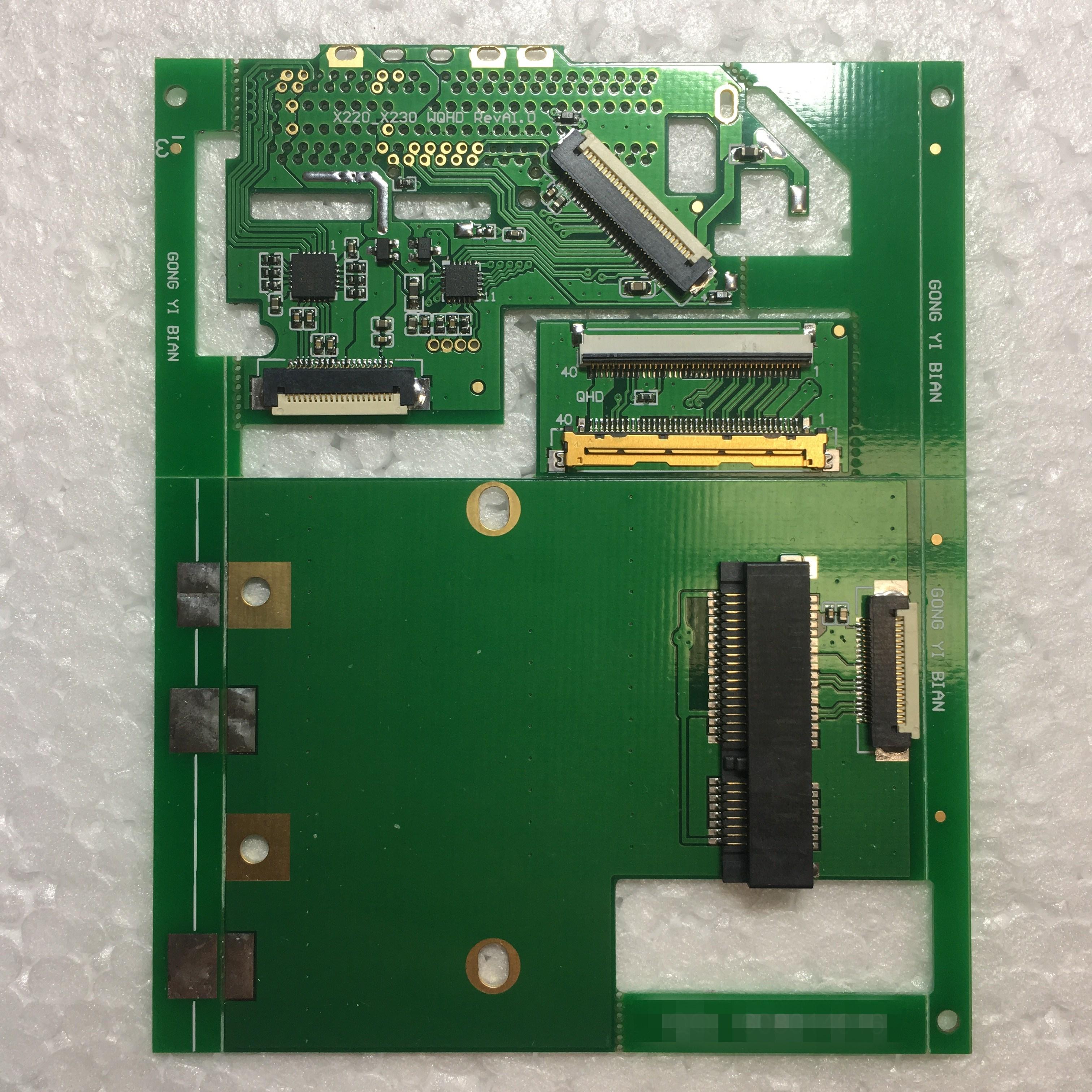X220/X230 DIY actualización HD pantalla 2560X1440 pantalla de alta resolución 2K Kit de placa adaptadora