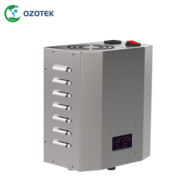 OZOTEK مولد أوزون لمعالجة مياه الآبار 1.0-3.0 جزء في المليون TWO004 220 فولت/110 فولت لمعالجة المياه شحن مجاني