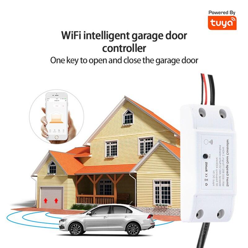 Wi-Fi управление гаражными дверями, сетевое управление, управление через приложение, голосовое управление, Противоугонная сигнализация, совм...