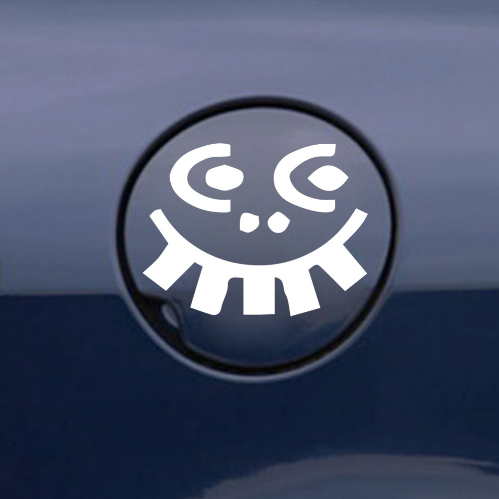 Pegatina de espejo retrovisor de coche envolvente de vinilo con cara A...