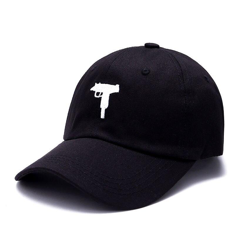 VORON Uzi Gun Boné de Beisebol EUA Moda 2019 painel Snapback Cap Hip hop Homens HEYBIG pala Curva 6 pai Chapéu casquette de marque
