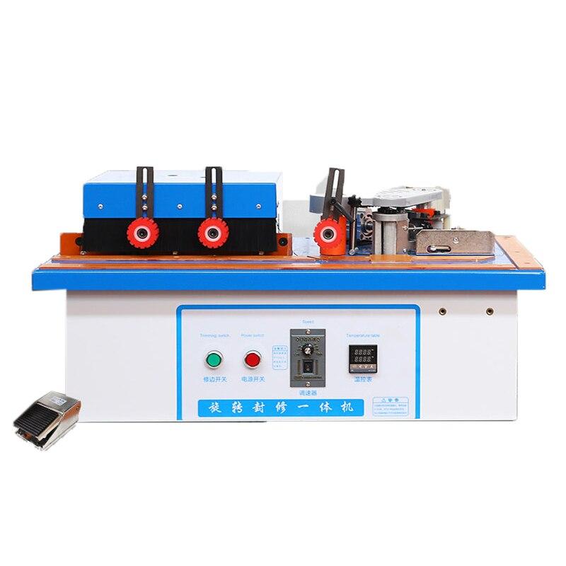 آلة ربط الحواف الأوتوماتيكية للأعمال الخشبية ، الأثاث اليدوي ، منحني مستقيم ، استخدام مزدوج ، لصق على الوجهين ، أدوات تشذيب الخشب
