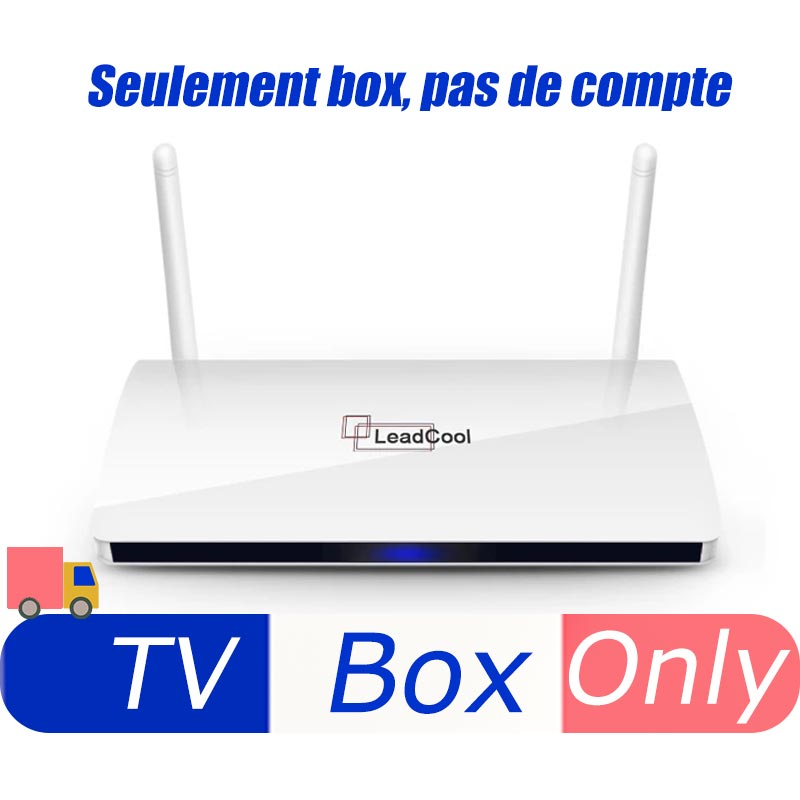 Leadcool 4K HD Smart TV Box Android 9.0 S905W Quad Core media player Support 2.4G Wifi 1G 8G 2G 16G