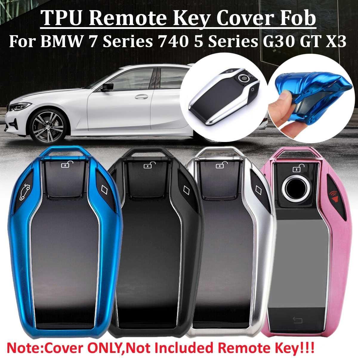 1 x nueva carcasa de llave de mando a distancia de coche de Tpu para BMW 5 6 7 Series G11 G12 G30 G31 G32 X3 X4 X5 730li 740li 2017 2018 2019 2020