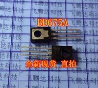new original 10pcslot bd675a darlington crystal transistor bd675 package to 126 cischy wholesale one stop distribution list