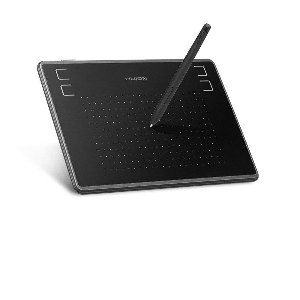 H430P 4x3 بوصة خفيفة الرقمية القلم اللوحي لوح رسم الرسومات مع القلم خالية من البطارية (مثالية ل OSU)