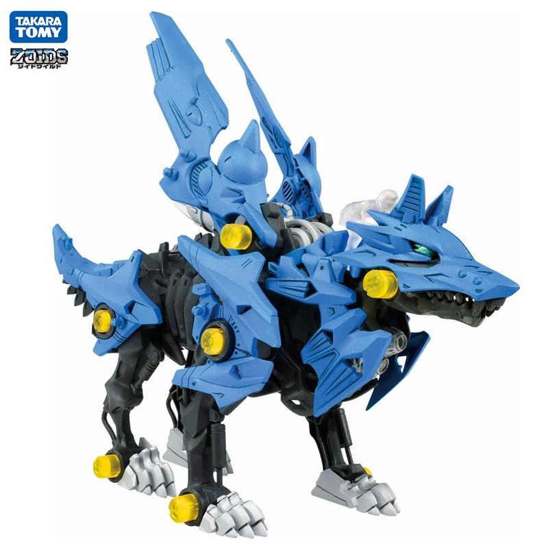 Takara Tomy ZOIDS despertar figura de acción modelo eléctrico montado juguete dragón Transformers Robot niños juguete regalos