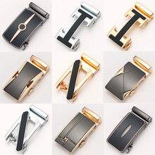 Men Designer Genuine Leather Belt Male Metal Automatic Buckle Belt Strip Width 3.5CM Buckle Width 4.