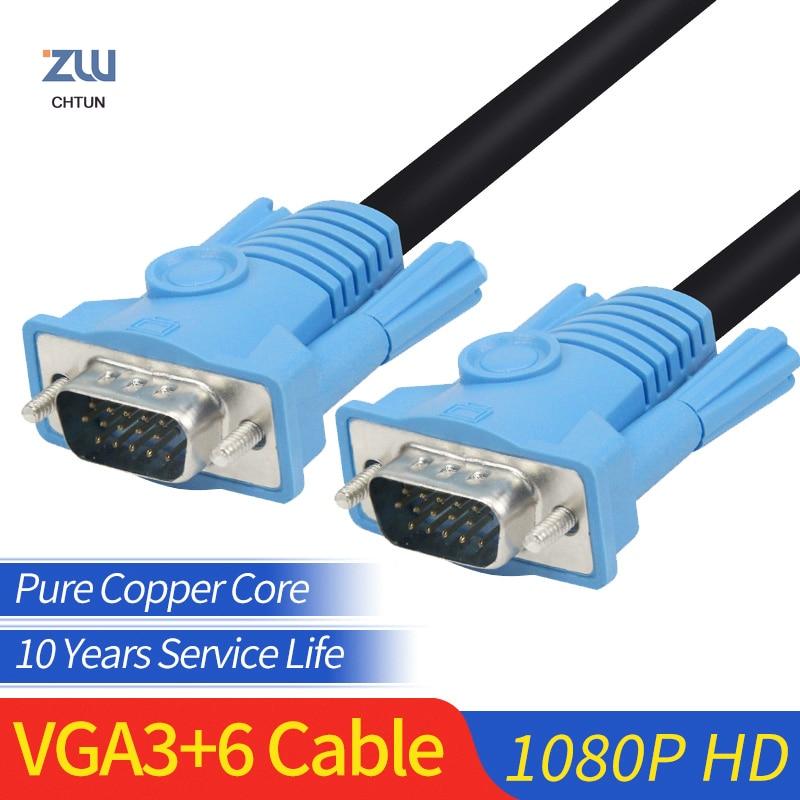 GCX Cable VGA a Cable VGA de alta calidad Full HD 1920*1080P...