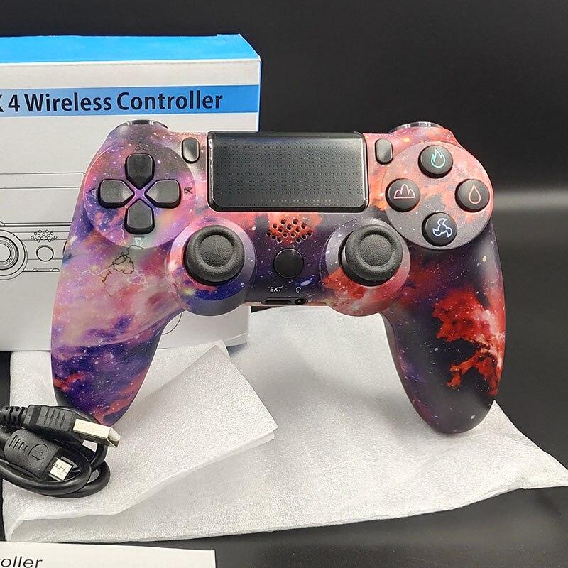 ل PS4 تحكم سماعة لاسلكية تعمل بالبلوتوث غمبد ل Ps4 سوني تحكم USB السلكية المقود ل أندرويد بلاي ستيشن 4 وحدة التحكم ps3