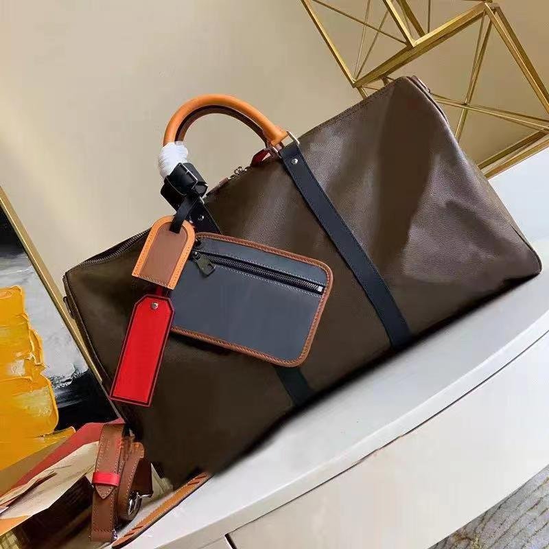 2021 New Fashion Luxury Travel Bag Classic Cow Leather Handbag Lady Messenger Shoulder Bag-B2172
