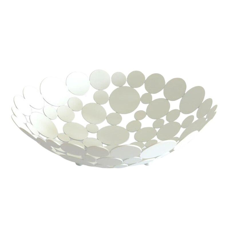 سلة فاكهة معدنية الإبداعية كونترتوب السلطانية شاشة لسطح المكتب ديكور الجدول تخزين حامل للخبز الخضار الفاكهة