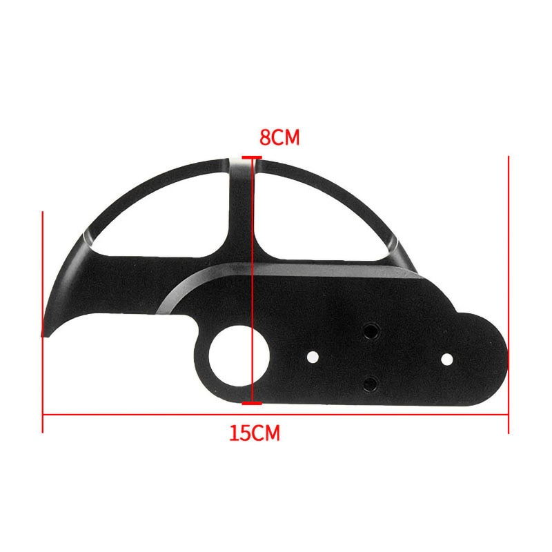 Electric Scooter Rear Wheel Brake Disc Protective Cover Guard Protector for Xiaomi Mijia M365 M365 Pro Scooter Accessories