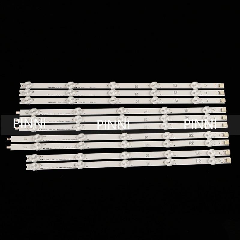 10 Peças/lote PARA LG 42LN5450-CT 6916L-1505A/1506A/1507A/1508A 42LN5400-CN LC420DUE(SF)(R7) R1 + L1 82MM R2 + L2 = = 824 MILÍMETROS