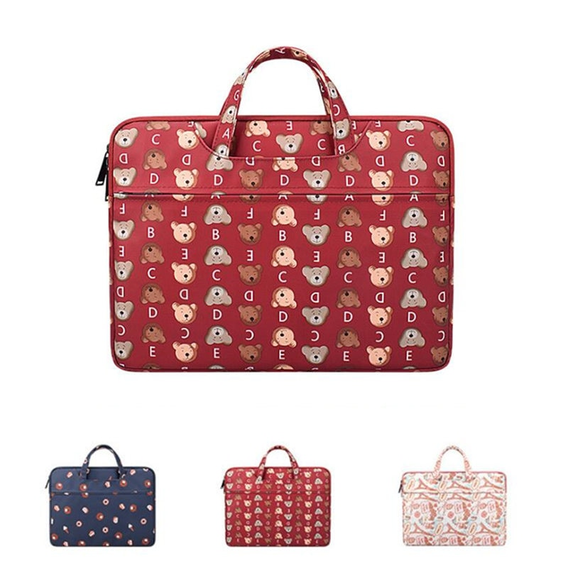 Laptop Sleeve Bag For 2019 HUAWEI Honor MagicBook 14 Inch Handbag MateBook 13 X Pro 13.9 E 13 12 15 Tablet Fashion Print Case