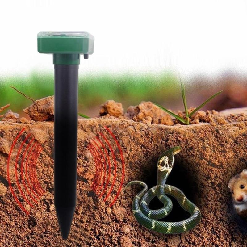 Dispositivo ultra-sônico exterior do rato da armadilha do repelente da praga do repelente de pragas do jardim do ponto solar ultrassônico