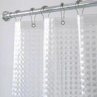 Aimjerry     rideau de douche transparent 3D Eva  revetement impermeable pour salle de bain