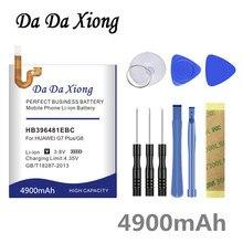 Da Da Xiong 4900mAh HB396481EBC batterie pour Huawei Honor 5X pour Huawei G7 Plus/G8/G8X