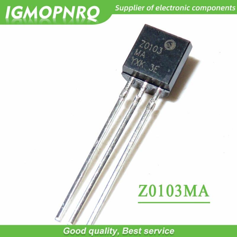 Новый оригинальный ТРИАК Z0103MA Z0103 TO92, 10 шт.