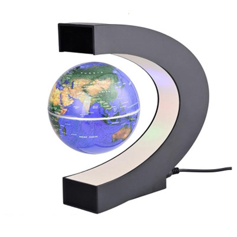 1 pcs Magnetic Levitation Globe Student school teaching equipment Night light globe Creative Gifts 110/220V AC US/EU/UK/AU enlarge