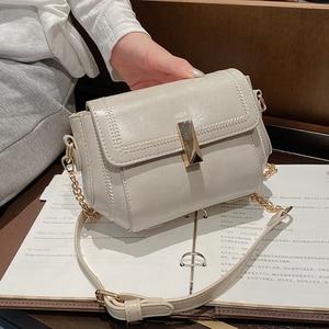 Niche Design Popular Chain Handbags 2021 New Fashion Hot-selling Messenger Bag High-quality HOT-style Square Bag Width: 23cm