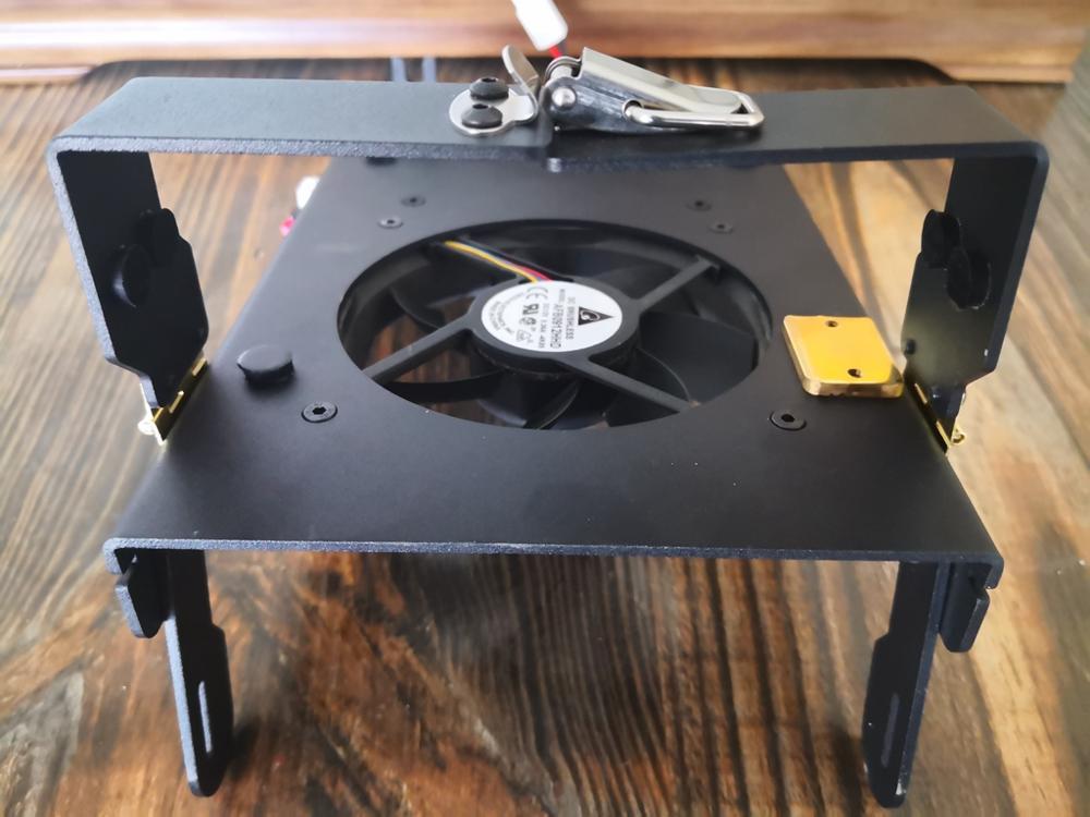 Soporte soporte disipador de calor + ventilador de refrigeración para XIEGU G90 G90S Ham HF Radio