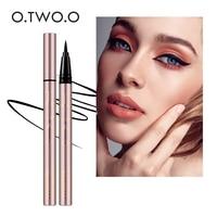 O.TWO.O 24 Hours Lasting Eyeliner Liquid Black Color Waterproof Eye Liner Pencil Smudge-Proof Cosmetic