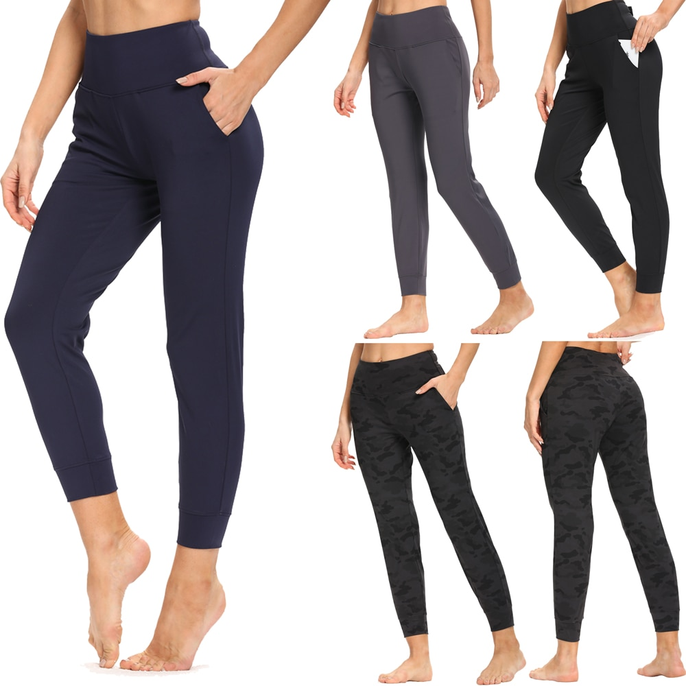 CapMap 2021 Hot Sale Fitness Female Nine Points Leggings 4 Colors Running Pants Comfortable And Formfitting Yoga Pants