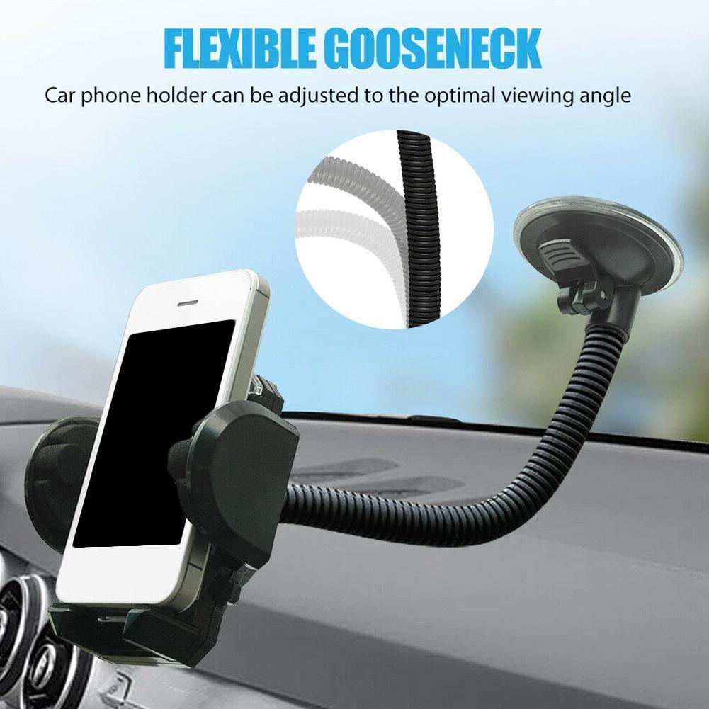Suporte do telefone do carro universal 360 graus de rotação liberação gps carro navegação telefone copo suporte montagem rápida suctio b0s9
