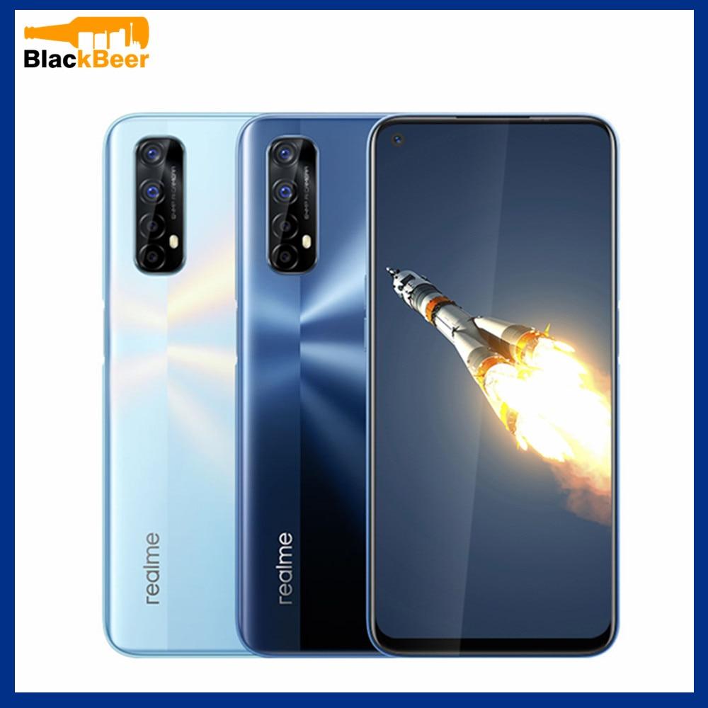 Realme 7 6.5 inch Smartphone 4G Android 10.0 Global Mobile Phone 8GB+128GB Octa Core CellPhone Helio G95 48MP Al Quad Camera NFC