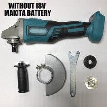 Pour MAKITA 18V 125mm sans brosse meuleuse dangle dimpact sans fil outils électriques Machine de polissage meuleuse angulaire sans batterie