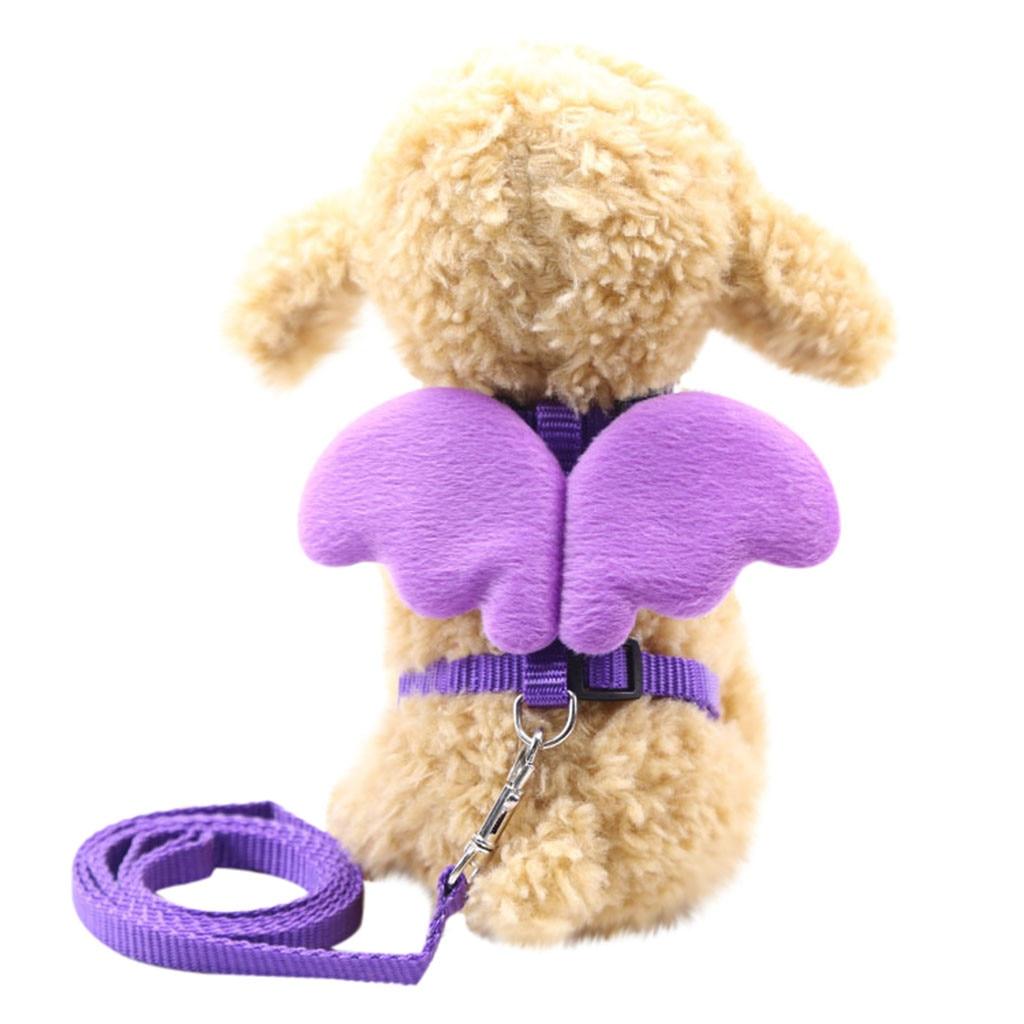 Gato cachorros de perro de gato de alas de Ángel chaleco cinturones de pecho mejor venta ajustable de alta calidad cómodo para mascotas chaleco жилетка для T3