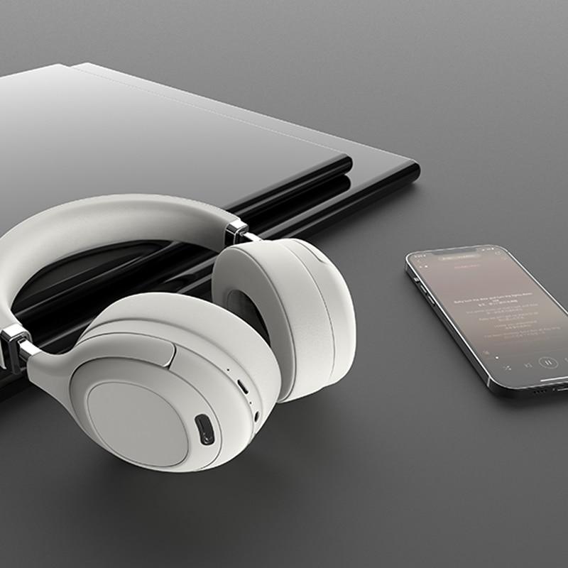 سماعة أذن أصلية لإلغاء الضوضاء صناعة رائدة سماعات رأس لاسلكية بلوتوث علوية