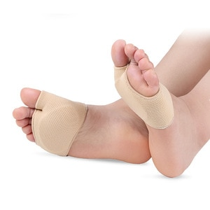 2 pieces of foot installation to care the forepaw bone, the forefoot pad, used for the foot back bone relief