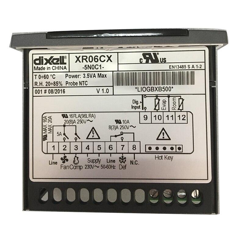 Digital para Dixell Novo Controlador Geladeira Comercial 1pc Xr60cx-5r0c1
